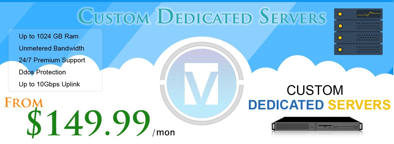 V9Hosting Dedicated Plans