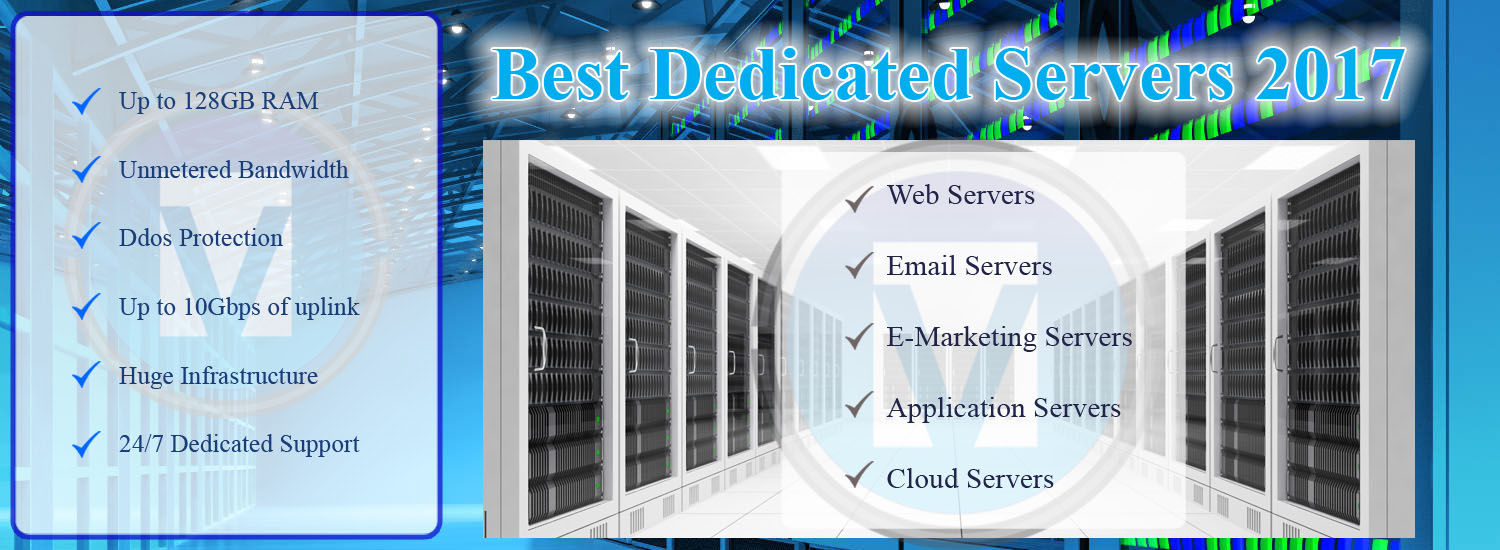 Best Dedicated Server Hosting 2016 - 100% Fast and Cheap Servers